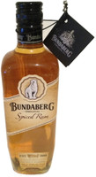SOLD! BUNDABERG RUM SPICED RUM WITH NECK TAG FIRST SERIES 700ML
