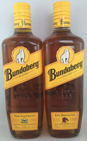 "SOLD! MATCHING #20 BUNDABERG ""BUNDY"" RUM BRONCOS & COWBOYS 700ML"