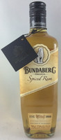 "SOLD! -BUNDABERG ""BUNDY"" RUM SPICED WITH NECK TAG 700ML*"