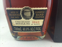 "BUNDABERG ""BUNDY"" RUM RESERVE #3943 BOXED 700ML"
