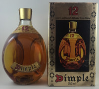 DIMPLE 12 YEAR OLD 1980S WHISKY 750ML