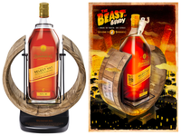 SOLD! BUNDABERG RUM SELECT VAT 52 4.5L CRADLE 37% BONUS A3 THE BEAST OF BUNDY POSTER