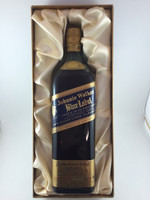 SOLD! JOHNNIE WALKER BLUE LABEL BOXED 750ML