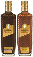 "BUNDABERG ""BUNDY"" RUM BANANA & TOFFEE PLUS COFFEE & CHOCOLATE ROYAL LIQUEUR PACK"