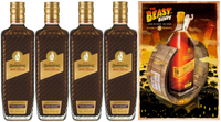 BUNDABERG RUM COFFEE & CHOCOLATE ROYAL LIQUEUR PACK BONUS BEAST OF BUNDY POSTER