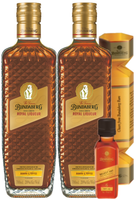 BUNDABERG RUM BANANA & TOFFEE ROYAL LIQUEUR BONUS BON BON & SELECT VAT MINI