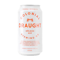 COLONIAL DRAUGHT KOLSCH 375ML CASE OF 24