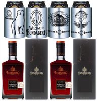 "BUNDABERG RUM ""BUNDY"" MASTER DISTILLERS BLENDERS 2015 TWIN PACK BOXED PLUS 4 COOLERS INCLUDING 4 CANS"