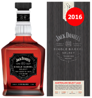 "JACK DANIEL'S SINGLE BARREL ""AUSTRALIAN SELECT 2016"" 700ML"