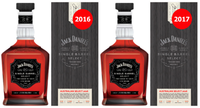 "JACK DANIEL'S SINGLE BARREL ""AUSTRALIAN SELECT 2016 & 2017"" 700ML TWIN PACK"