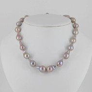 Silver Grey Baroque Pearl Set