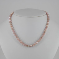 Natural Pink Pearl Set