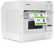 Epson TM-C3400 Inkjet Label Printer Ethernet