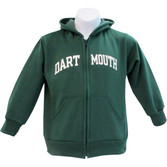 Youth Tailgater Hooded Zip Sweatshirt-Dartmouth