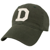 Green Dartmouth Felt 'D' Hat