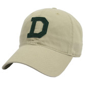 Khaki Dartmouth Felt 'D' Hat