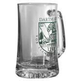 Beer Mug with Green Shield