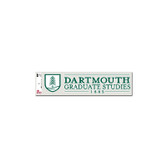 Dartmouth Graduate Studies Decal (INTERIOR)
