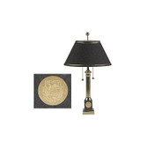 Dartmouth Brass Table Lamp