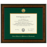 Diploma Frame Presidential Medallion Madison  - Geisel School of Medicine at Dartmouth