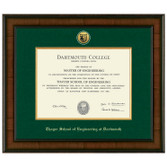 Diploma Frame Presidential Medallion Madison  - Thayer School of Engineering at Dartmouth
