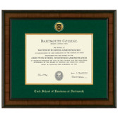 Diploma Frame Presidential Medallion Madison - Tuck School of Business at Dartmouth