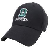 Black Dartmouth Soccer Hat