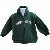 Toddler Tailgater Hooded Zip Sweatshirt-Dartmouth