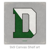 Split D Mini Canvas