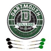 Dartmouth College Dartboard & Darts Set