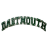 Lighted Arch Dartmouth Metal Wall Sign