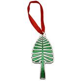 Lone Pine Metallic Ornament