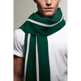 Thick Wool Stripe Scarf