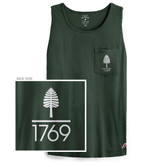 Vintage Wash Lone Pine Pocket Tank
