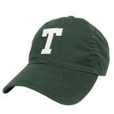 Felt T Tuck School Green Hat