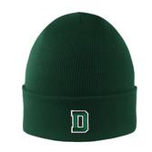 Knit D Cuff Hat
