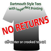 Adult Mystery Imperfect Fashion Tee NO RETURNS