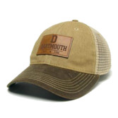 Brown D Patch Hat