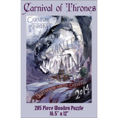 Wooden Puzzle: 2014 Carnival of Thrones WC Poster