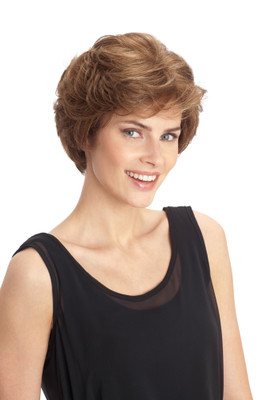 Louis Ferre Hillary Monosystem Illusion Front Wig front view
