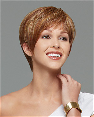 Gabor wigs strength light red front view
