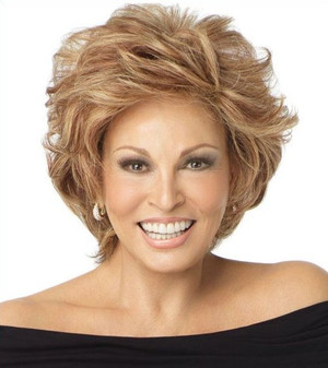 Raquel Welch wig Applause Human Hair Front View 1