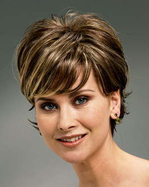 Raquel Welch wig Boost Synthetic Front View 1