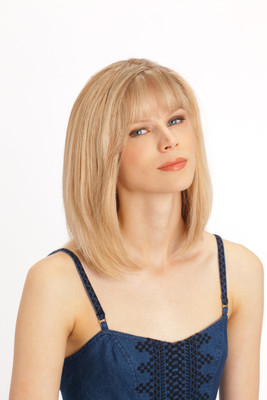 Louis Ferre Topaz  Monotop Human Hair Wig front