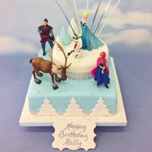 Birthday cakes with free delivery in Edinburgh. Exciting designs ...