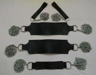 Heavy Duty Chain & Leather Sex Swing