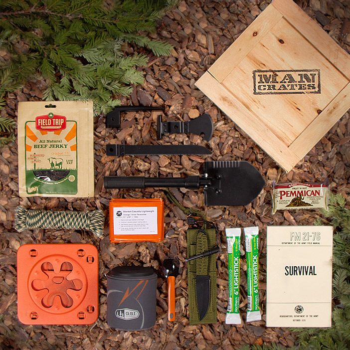 Outdoor Survival Crate