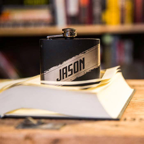Secret stash Personalized Flask