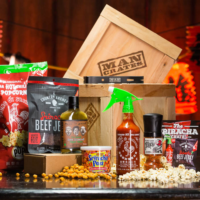 Now that the Sriracha Crate exists, if you're still complaining about the taste of food, the food may not be the problem.