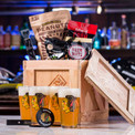 The NHL Barware Crate is cool as ice.